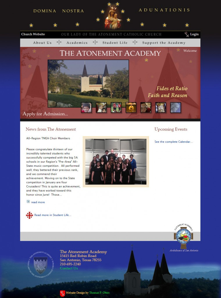 The Atonement Academy, San Antonio, Texas